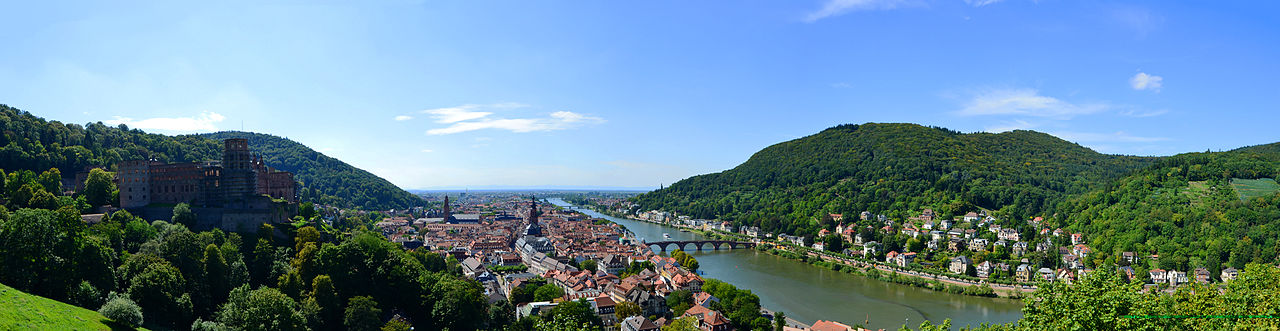view on Heidelberg